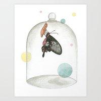 The Bell Jar Art Print