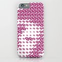 Pink Pebble Pattern iPhone & iPod Case