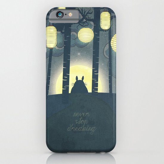 Totoro ' s Dream  iPhone & iPod Case