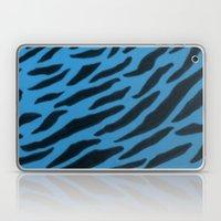Cornflower Blue Zebra  Print Laptop & iPad Skin
