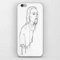 Ink Possessed Melting Girl iPhone & iPod Skin