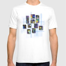 CDs Mens Fitted Tee SMALL White