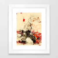 Hulking Framed Art Print