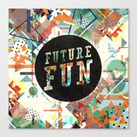 Future Fun Canvas Print