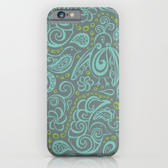 Festooned Feathered Friends iPhone & iPod Case