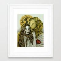 By Sunset Framed Art Print