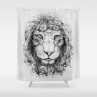 King of Nature Shower Curtain