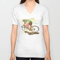 The Sprinter, Cycling Edition Unisex V-Neck