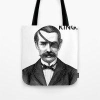 ONE-EYED KING  Tote Bag