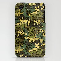 iPhone 3Gs & iPhone 3G Cases featuring Military pattern. by Julia Badeeva