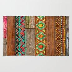 Indian Wood Rug