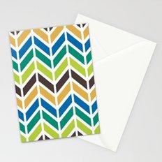 Chevron Stationery Cards