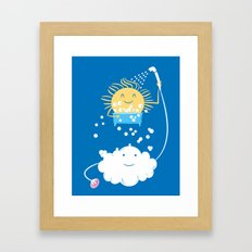 The Sunbathing Framed Art Print