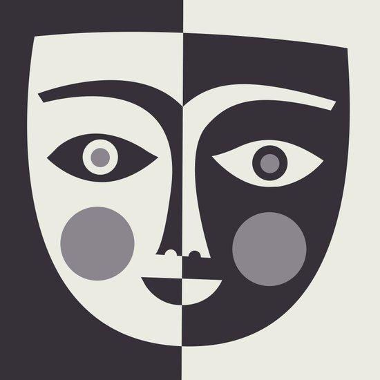 Mask 2 Art Print