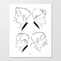 Hart & Cohle 95-12 Canvas Print