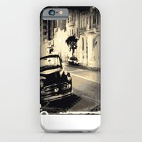 iPhone Cases featuring Vintage Car by Whiteflash