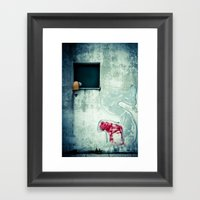 Big 'S' With Window, Pip… Framed Art Print