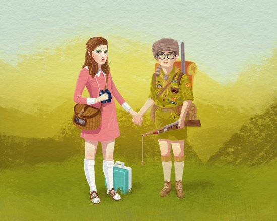 Moonrise Kingdom (Landscape edition) Art Print