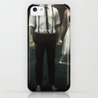 iPhone Cases featuring abyss of the disheartened : IV by Heather Landis