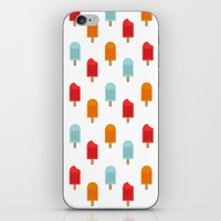 Ice Lollies Pattern iPhone & iPod Skin