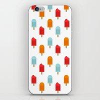 Ice Lollies Pattern iPhone & iPod Skin