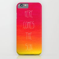 iPhone & iPod Case featuring Here comes the sun by AA Morgenstern
