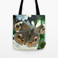 Buckeye Butterfly Tote Bag