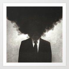 Confessions of a Guilty Mind. Art Print
