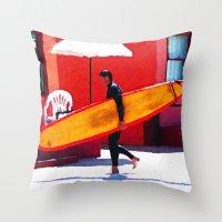 Oceanside Throw Pillow