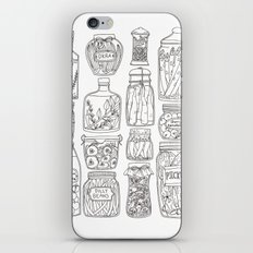 Pickles Print iPhone & iPod Skin
