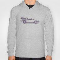 Famous Car #2 - Delorean Hoody