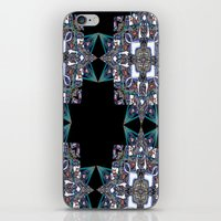 Internal Kaleidoscopic Daze-15 iPhone & iPod Skin
