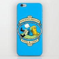 The Adventures Of Finn &… iPhone & iPod Skin