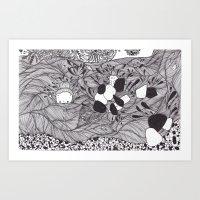 underwater spirit Art Print