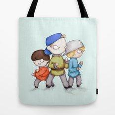 Three Ninjas Tote Bag