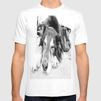 Tired Old Dog Mens Fitted Tee White SMALL