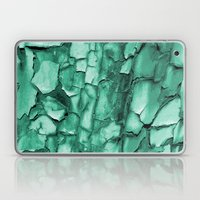 Flakey - Teal Laptop & iPad Skin