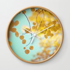 nature's gold Wall Clock