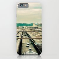 iPhone & iPod Case featuring Train station by Sookie Endo
