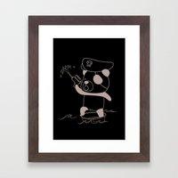 Captain Jack Spanrow Framed Art Print
