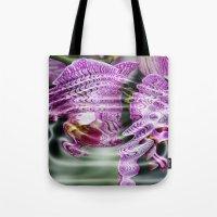 Sunken Orchids Tote Bag