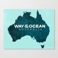 WAY OF THE OCEAN - Australia Canvas Print