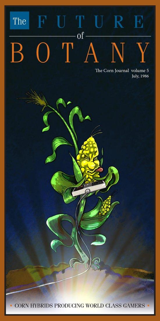 The Future of Botany Art Print