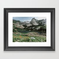 Lake Blanche Framed Art Print
