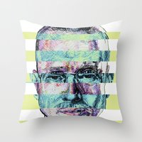 BREAKING BAD JESSE/WALTER Throw Pillow