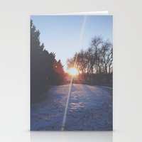 sundown  Stationery Cards