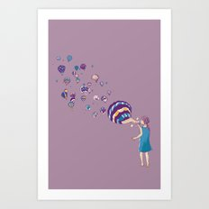 Amaze me Art Print