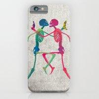 Skeleton Crush with Banana n Gun iPhone 6 Slim Case
