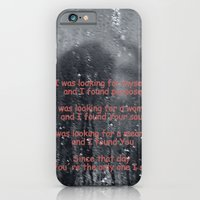 iPhone & iPod Case featuring I was looking by Leffan