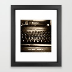 Remington Noiseless Framed Art Print